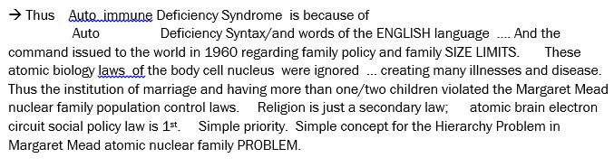 anomic society syndrome